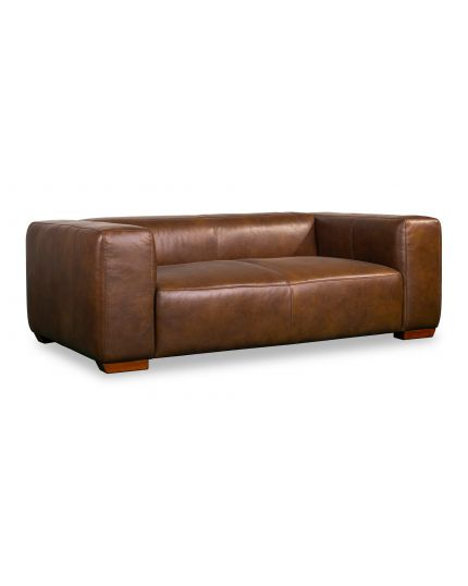 Plush 2 Seater Leather