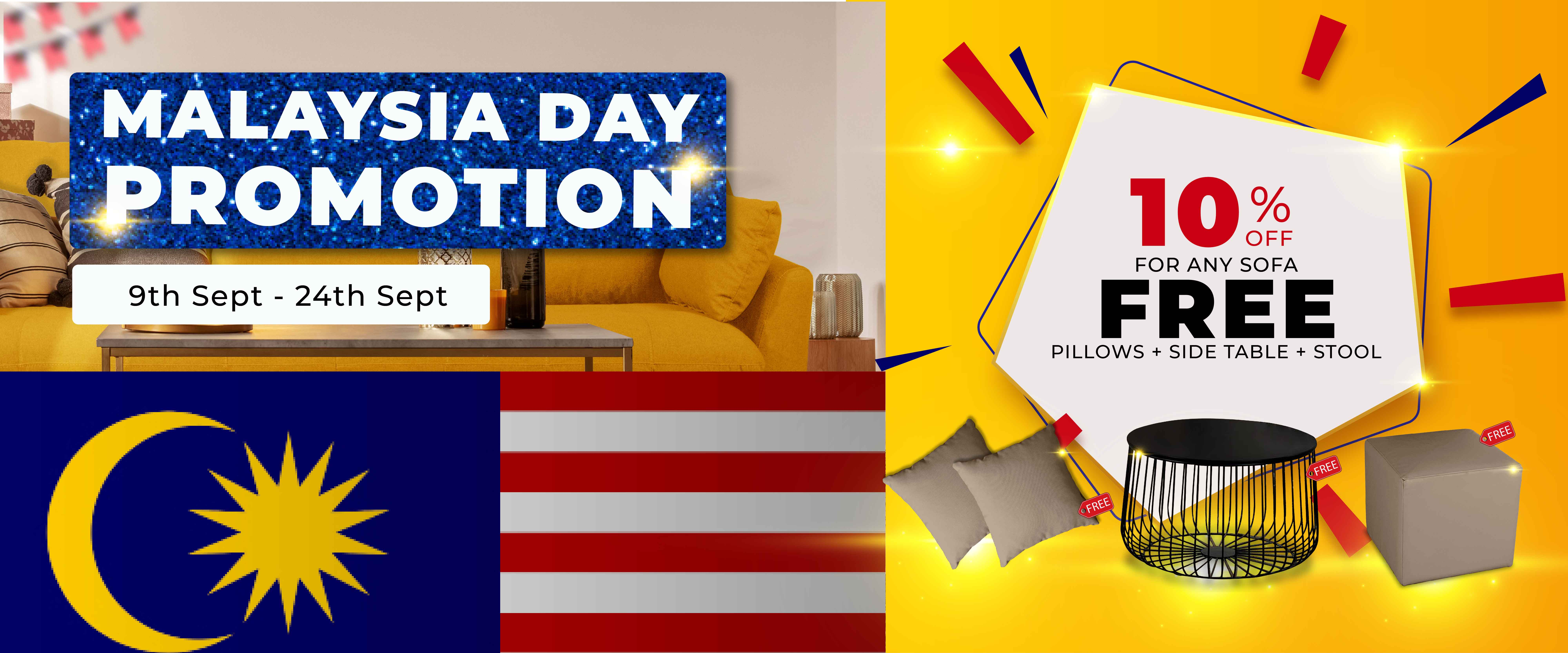 Malaysia Day Promotion