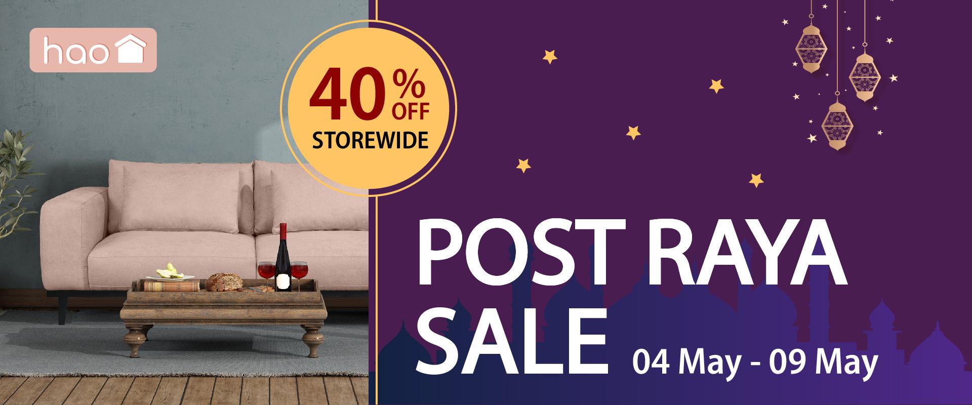 Post Raya Sale